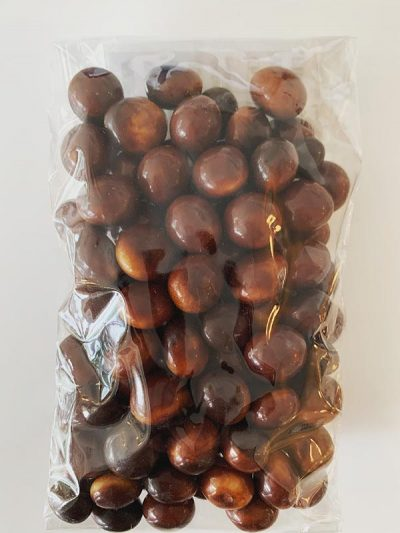 Deer Droppings Chocolate Candy in a bag.